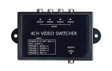 4 Channel Automatic Video Switcher for Automotive Cars