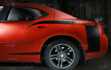 2006-2010 Dodge Charger DAYTONA Quarter Rear Panel Side C-Stripes kit Decals