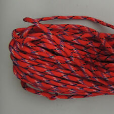 550 Paracord Parachute Cord Lanyard Mil Spec Type III 7 Strand Core 100Ft Red