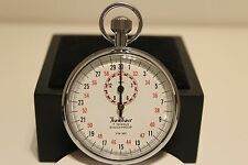 "VINTAGE GERMANY SPORT WORKS STOPWATCH CHRONOMETER 1/10 SEC ""HANHART"" 7 JEWELS"