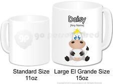 Regalo Personalizado Animal tonto Vaca Taza el Grande Grande Novedad personalizado de Té Café