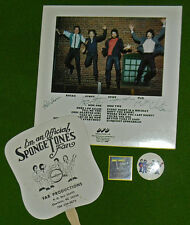 Vintage THE SPONGETONES Signed LP Plus Concert Memorabilia Collectors MUST L@@K