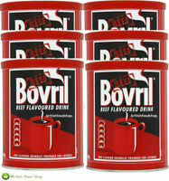 BOVRIL BEEF FLAVOUR DRINK 6 x 450g CATERING TUB GRANULES 540 SERVINGS - TRACKED!