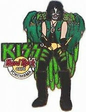 Hard Rock Cafe YOKOHAMA 2005 KISS Band PIN #2/10 PETER CRISS HRC Catalog #27606