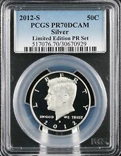 2012 S Silver Kennedy Limited Edition Proof Set PCGS PR 70 DCAM