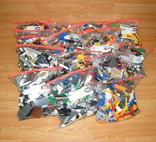 ONE 2 Pound Bag of Mixed Lego Lot - Bricks, Parts, Pieces, Multi-Color **READ**