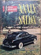 L'ACTION AUTOMOBILE ET TOURISTIQUE LE 49 ème SALON 1952