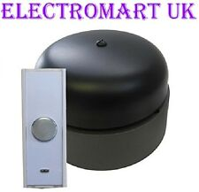 WIRELESS CORDLESS VINTAGE RETRO  CLASSIC RING DOOR BELL 180M RANGE 95 DECIBEL