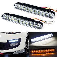 2x 30 LED Coche Luz de circulación diurna DRL Lámpara con intermitente