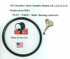 Replacement Belt for Thumler's Tumbler Models AR 1,2,6,12 &B (10)FREE LUBRICANT!