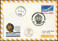 Austria 1983 Balloon Post Flight Cover #C16195