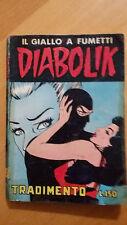 DIABOLIK seconda serie n.21 / 1965  Tradimento  Sodip  ORIGINALE