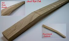 Red Oak ~ Cigar Box Guitar Neck ~ 22 Fret