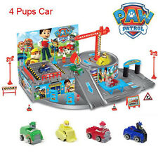 Paw Patrol Action Figures Doll Car Parking Playground Kids Children Baby Toy Set