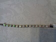 Calvin Begay Opal Bracelet Navajo  Handmade