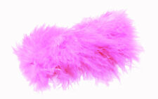 Flamboyant Moulin Rouge- Pink Quality Feather & Metal Hair Barrette (Zx216)