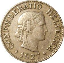 Switzerland Suisse 10 Rappen centimes 1927 KM#27 (S-15)