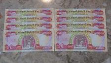 IRAQI DINAR UNCIRCULATED BANKNOTES – 8 X 25000  =  200,000 DINAR