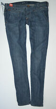 "NEW MISS SIXTY LIZBETH Stretch Low skinny JEANS womans size 31 uk 14  30""Leg"