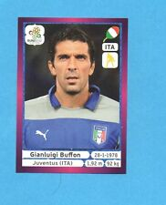 PANINI-EURO 2012-Figurina n.316- BUFFON - ITALIA -NEW-DARK BOARD
