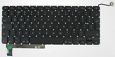 "APPLE MACBOOK PRO UNIBODY 15"" A1286 Teclado Reino Unido Layout 2009 2010 2011 F130"