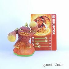 Skylanders Spyros Adventure Eruptor + tarjeta swap force/trap team/superchargers