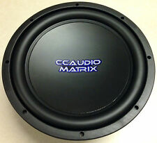 CCAUDIO Matrix 12'' Dual 4ohm Voice Coil Subwoofer Sub 400 Watts Rms NEW w/Grill