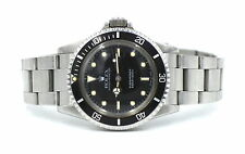 ROLEX SUBMARINER OYSTER PERPETUAL 5513 WRISTWATCH 1986 BOX PAPERS COMPLETE