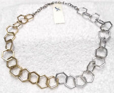 Lucky Brand Silver/Gold Rings Necklace