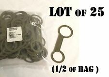 US MILITARY ALICE CANTEEN CAP HINGE STRAP RETENTION LOOP LANYARD LOT of 25 NEW