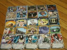 50 Naruto Assorted Card Lot With 5 Holo Foils & 5 Rares