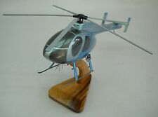 MD-500 McDonnell Helicopter Handcrafted Wood Model Regular New
