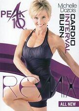 PEAK 10 CARDIO INTERVAL BURN REMIX DVD MICHELLE DOZOIS WORKOUT ADVANCED EXERCISE