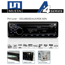 Autoradio CD USB SD AUX-in sintonizzatore RDS FM radio mp3 WMA player mueta a4 4x75 Watt