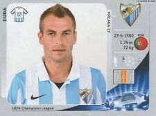 N°221 DUDA # PORTUGAL MALAGA.CF CHAMPIONS LEAGUE 2013 STICKER PANINI