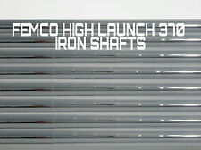 8 R/S REGULAR FLEX or STIFF FEMCO (FST) IRON SHAFTS 370 Parallel 100g HI LAUNCH