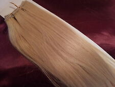 "18""HUMAN WEAVE 100G #613 BEAUTIFUL INDIAN REMY STRAIGHT HAIR WEFT"