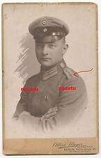 seltenes Plattenfoto Portrait Feuerwerker mit Eisernes Kreuz