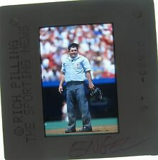 BOB ENGEL NATIONAL LEAGUE UMPIRE 1965-1990 umpired 3,630 GAMES ORIGINAL SLIDE 3