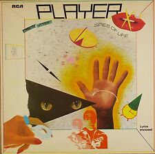 """12"""" LP - Player  - Spies Of Life - B453 - washed & cleaned"""
