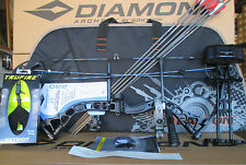 New  Diamond Infinite Edge Pro RH BLACK OPS Compound Bow UPGRADED Package