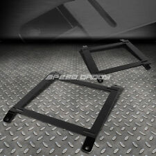 2X LOW MOUNT RACING BUCKET SEAT BASE TENSILE STEEL BRACKET FOR 89-97 MIATA MX-5
