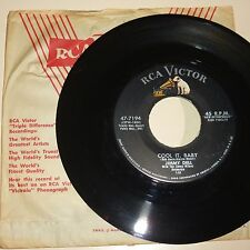 ROCKABILLY 45 RPM RECORD - JIMMY DELL - RCA VICTOR 47-7194