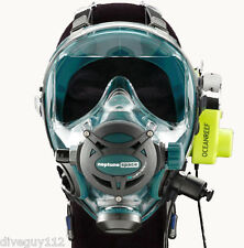 Ocean Reef Neptune Space G.divers Full GMS Radio Communication Diving Mask SM EM