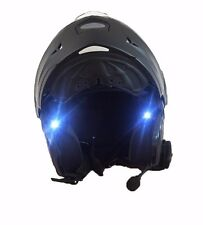 Helmet front warning Safety Lights Bicycle cycling Motorcycle riding white led