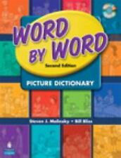 Word by Word Picture Dictionary with WordSongs Music CD by Steven J. Molinsky...