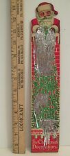 Vintage 1920s Tinsel Christmas Silver Ribbon Metal Goods Corp. NOS