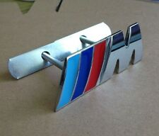 Metal CHROME Logo /// M CALANDRE FRONT GRILL badge emblem aufkleber for M3 X5 X6
