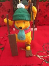 Christmas Disney Hallmark Keepsake Winnie The Pooh Ornament In Box