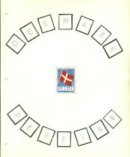 DENMARK PERFIN CATALOG 1980 w/illustrations and lists - LONG OUT OF PRINT!